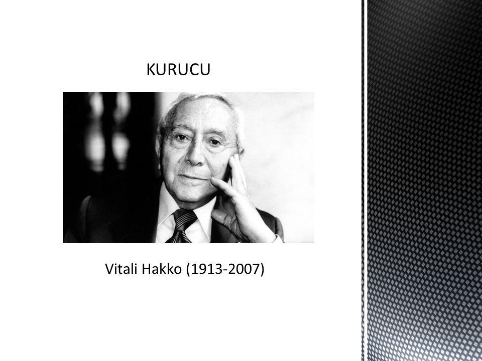 KURUCU Vitali Hakko (1913-2007)
