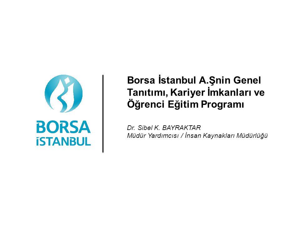 Borsa İstanbul A.Şnin Genel Tanıtımı, Kariyer İmkanları ve Öğrenci Eğitim Programı