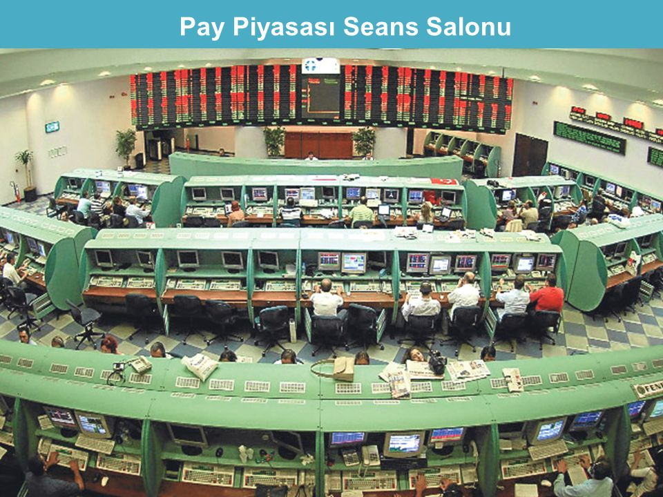 Pay Piyasası Seans Salonu