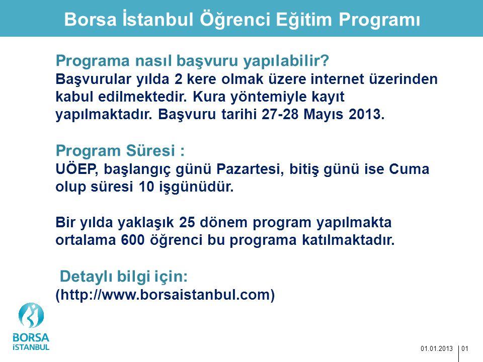 Borsa İstanbul Öğrenci Eğitim Programı