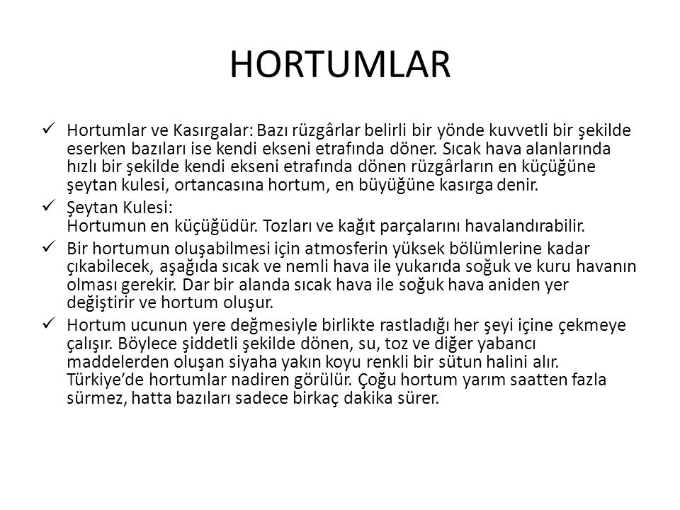 HORTUMLAR