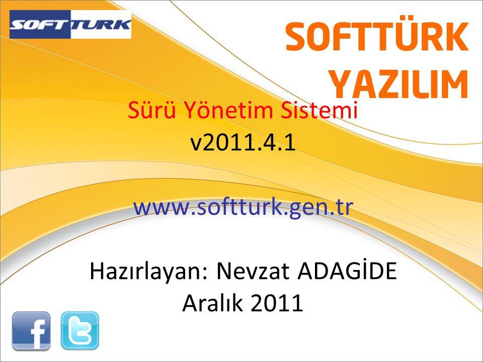 Sürü Yönetim Sistemi v2011. 4. 1 www. softturk. gen