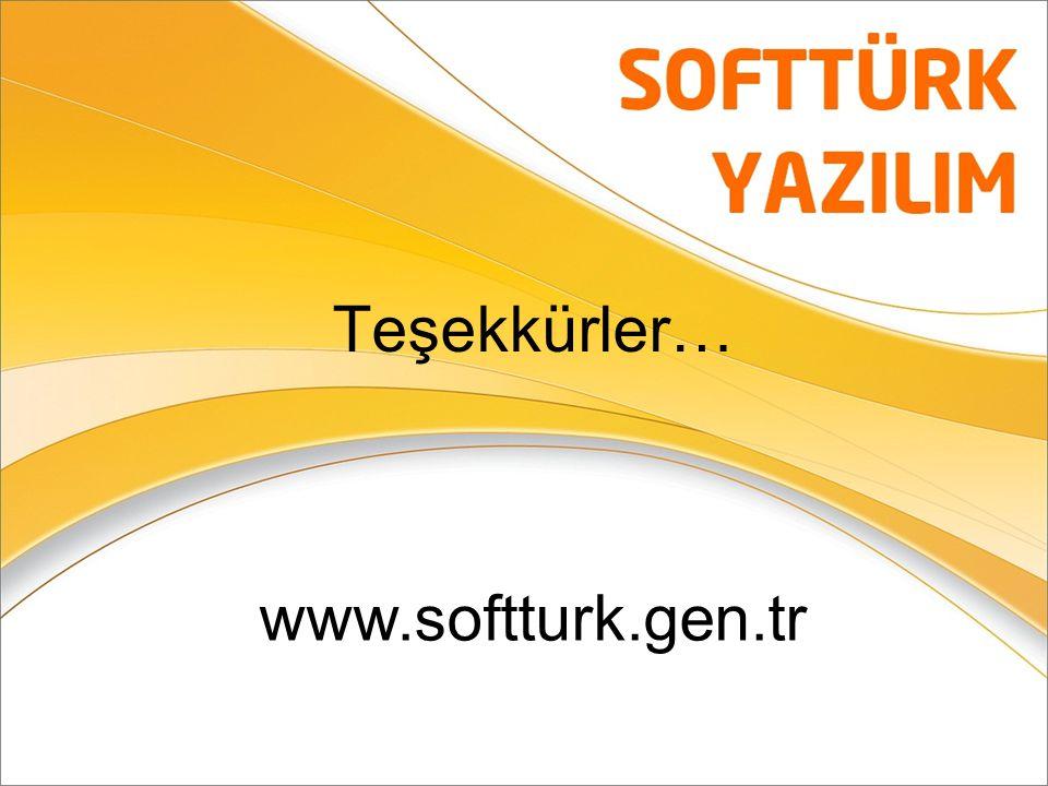Teşekkürler… www.softturk.gen.tr