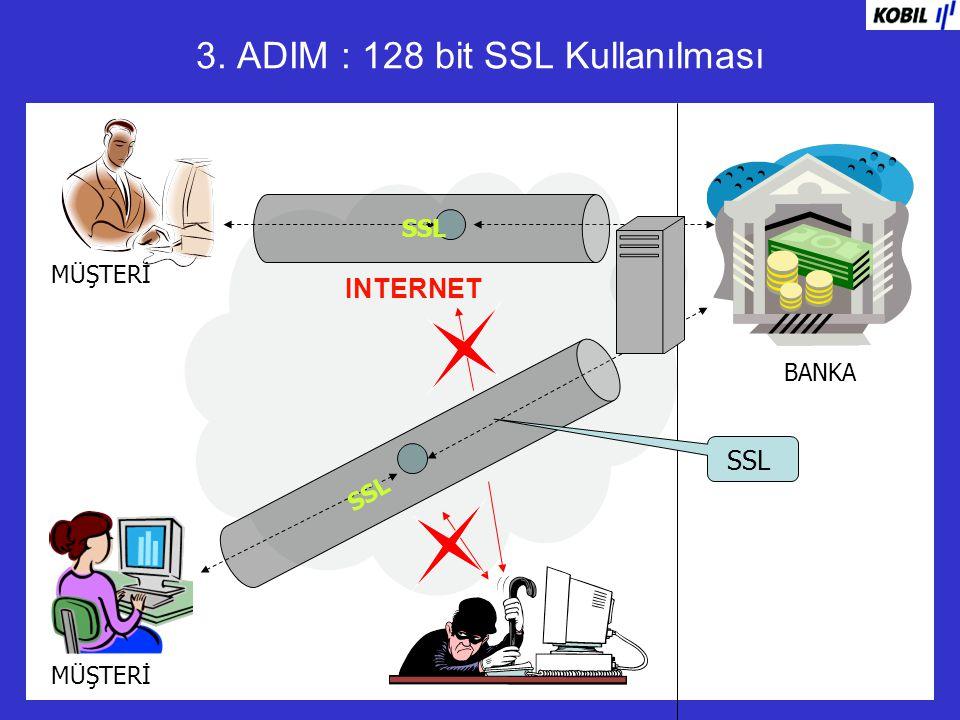 3. ADIM : 128 bit SSL Kullanılması