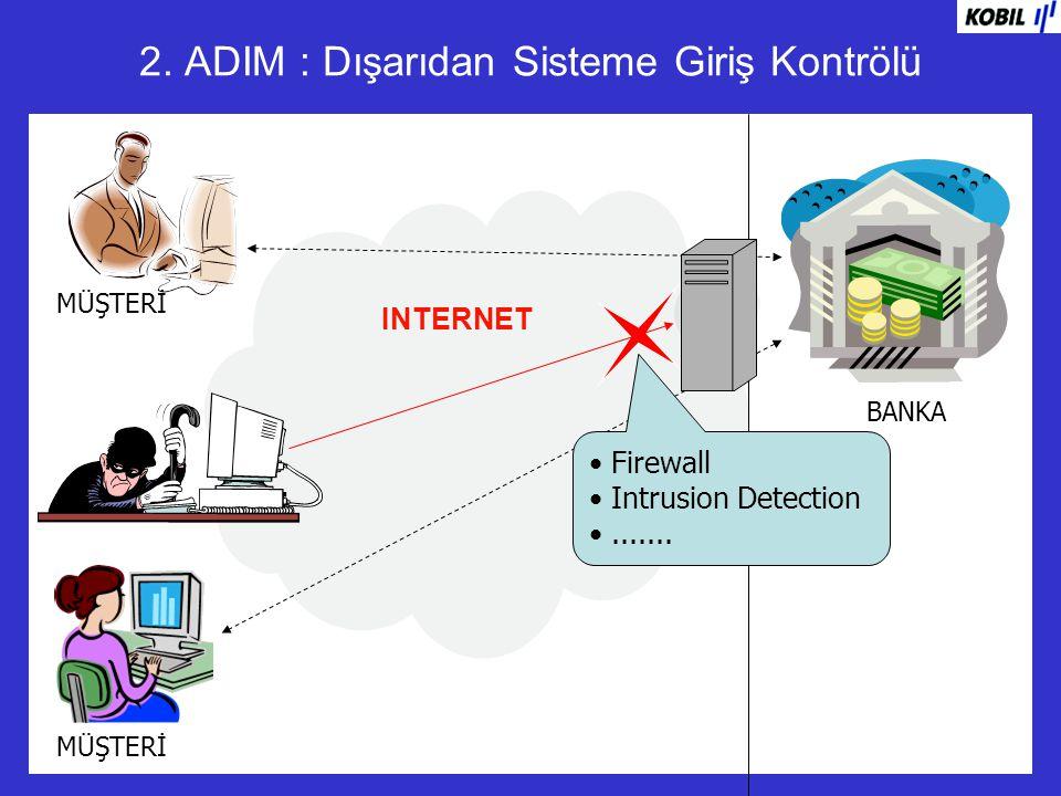 2. ADIM : Dışarıdan Sisteme Giriş Kontrölü