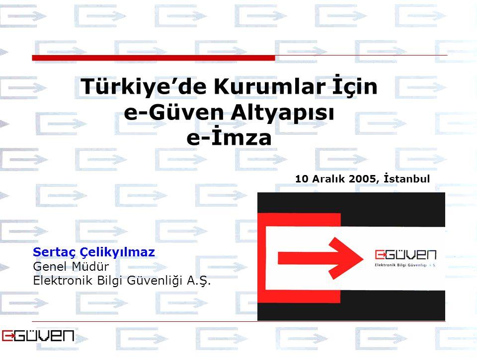 Türkiye'de Kurumlar İçin