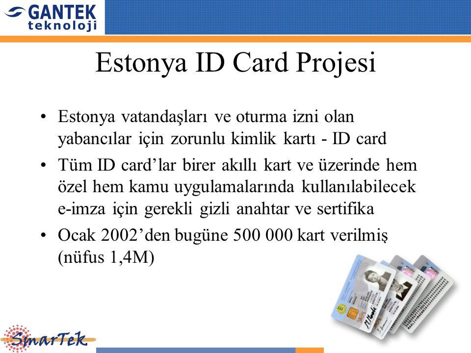 Estonya ID Card Projesi