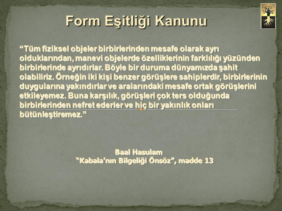 Form Eşitliği Kanunu