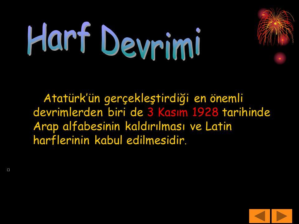Harf Devrimi