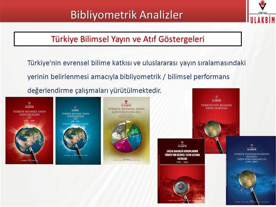 Bibliyometrik Analizler