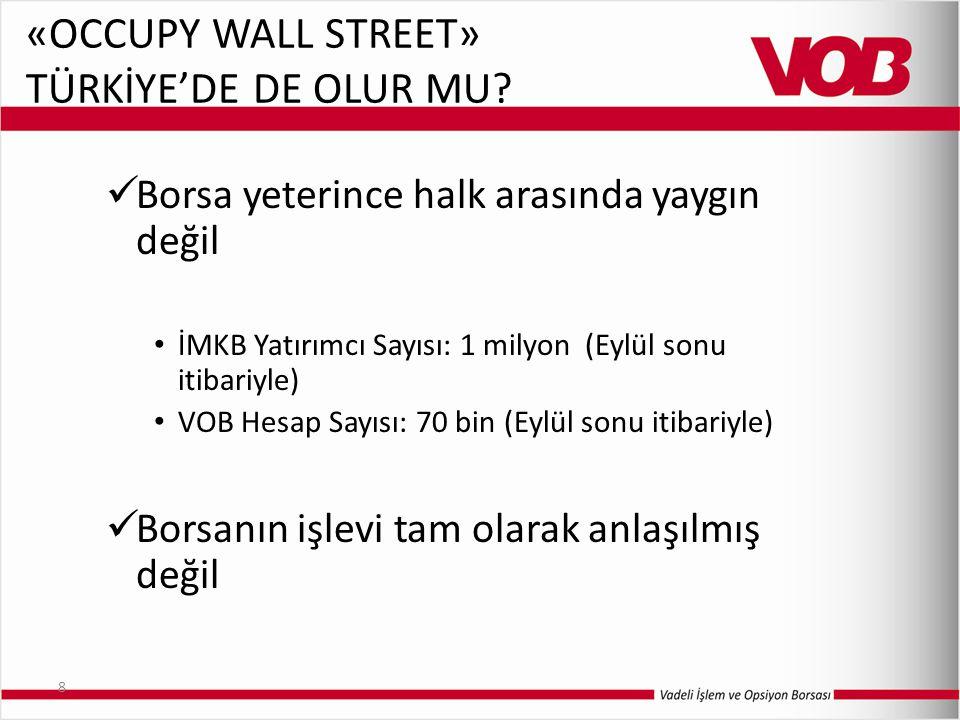 «OCCUPY WALL STREET» TÜRKİYE'DE DE OLUR MU