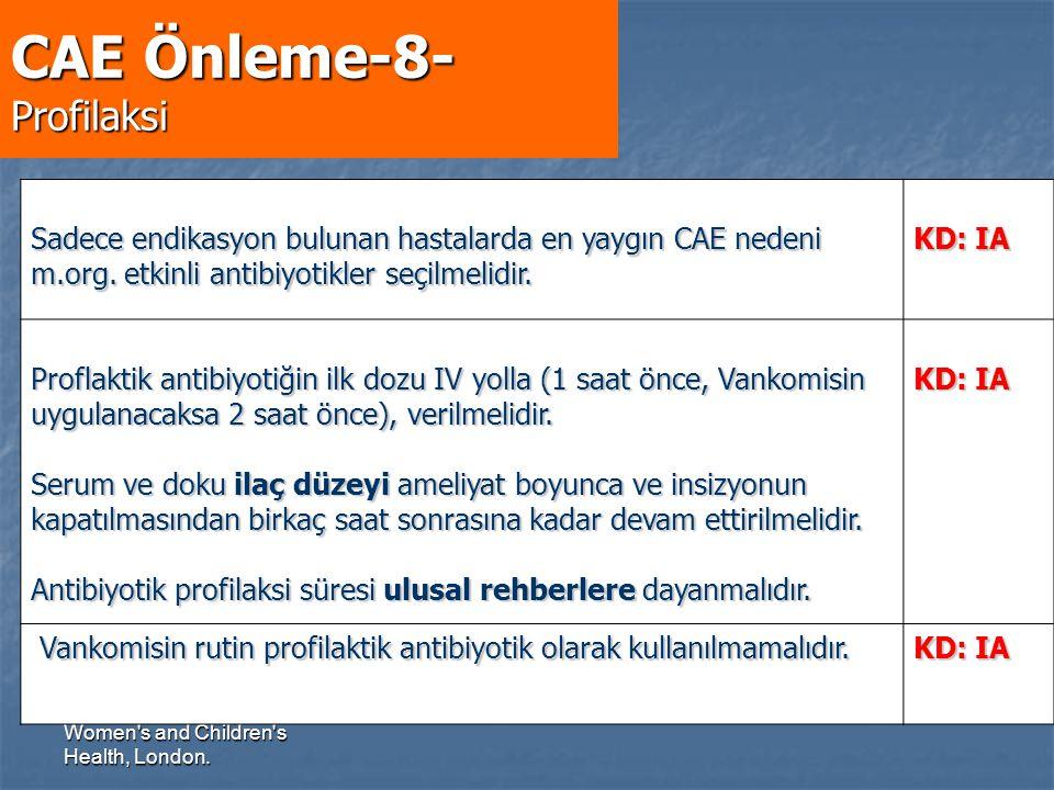 CAE Önleme-8- Profilaksi