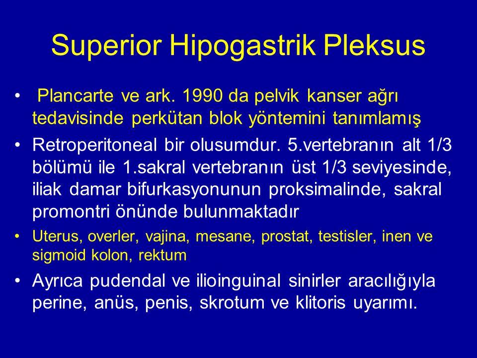 Superior Hipogastrik Pleksus