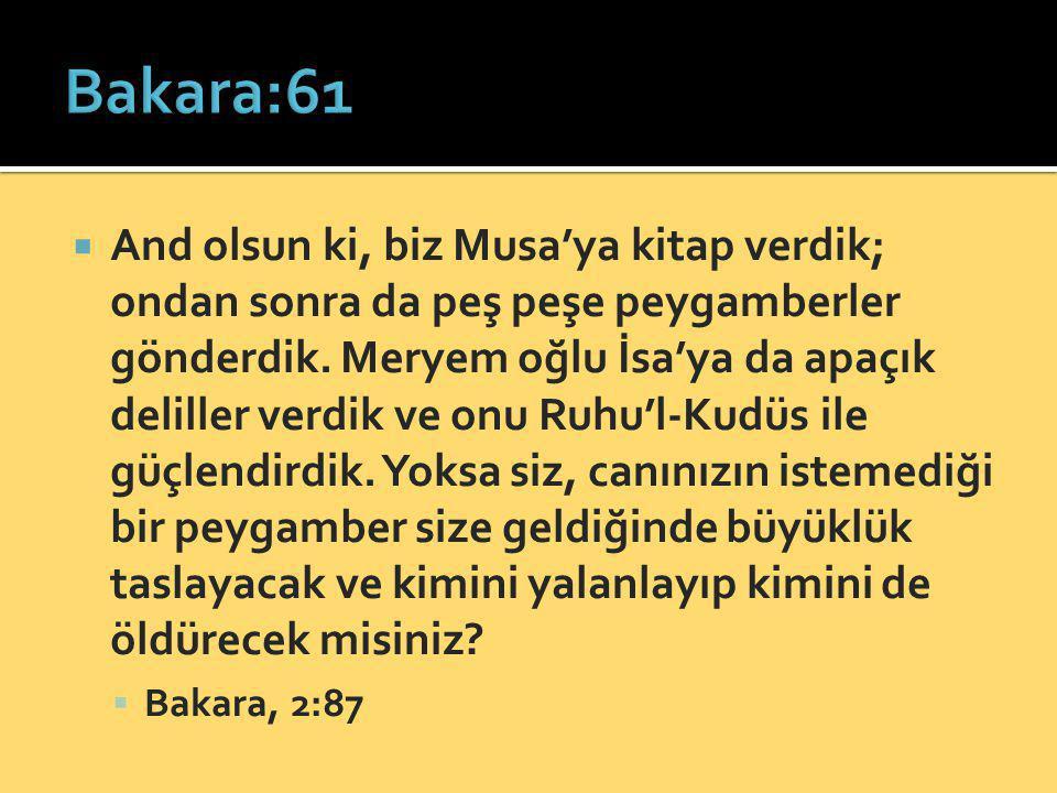 Bakara:61