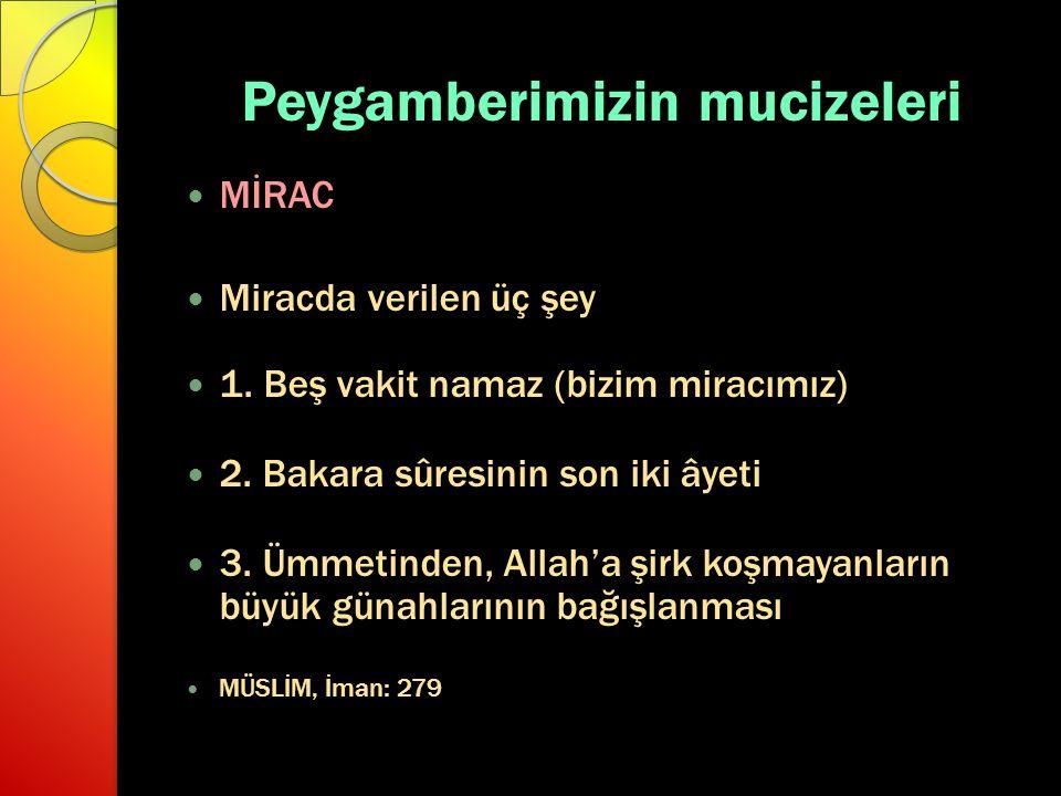Peygamberimizin mucizeleri