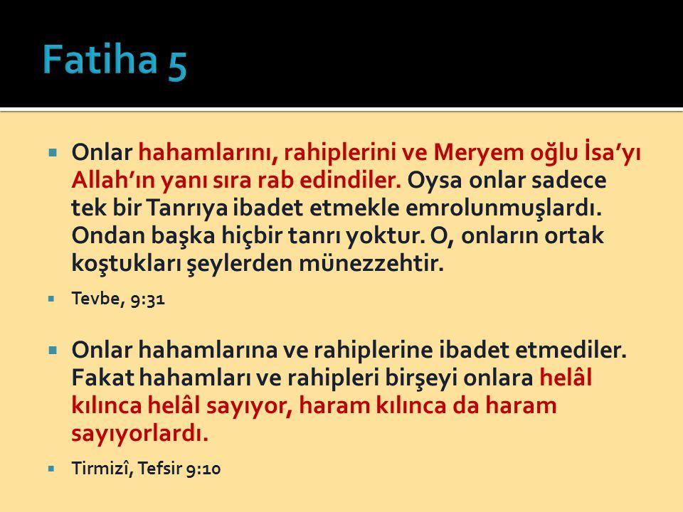 Fatiha 5