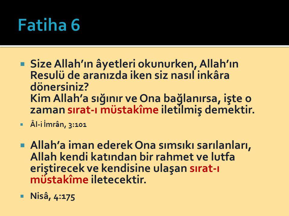 Fatiha 6
