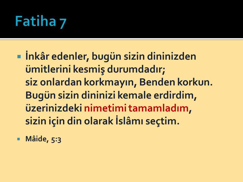 Fatiha 7