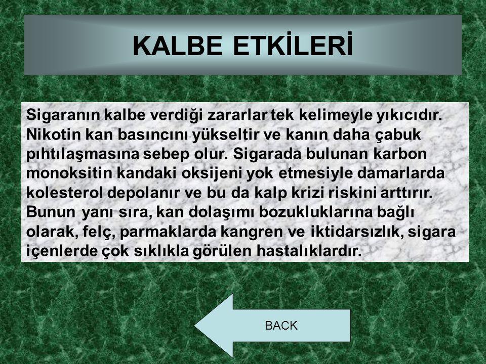 KALBE ETKİLERİ