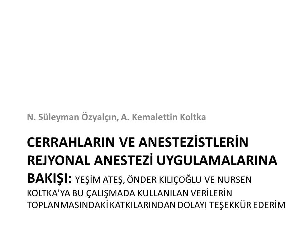 N. Süleyman Özyalçın, A. Kemalettin Koltka