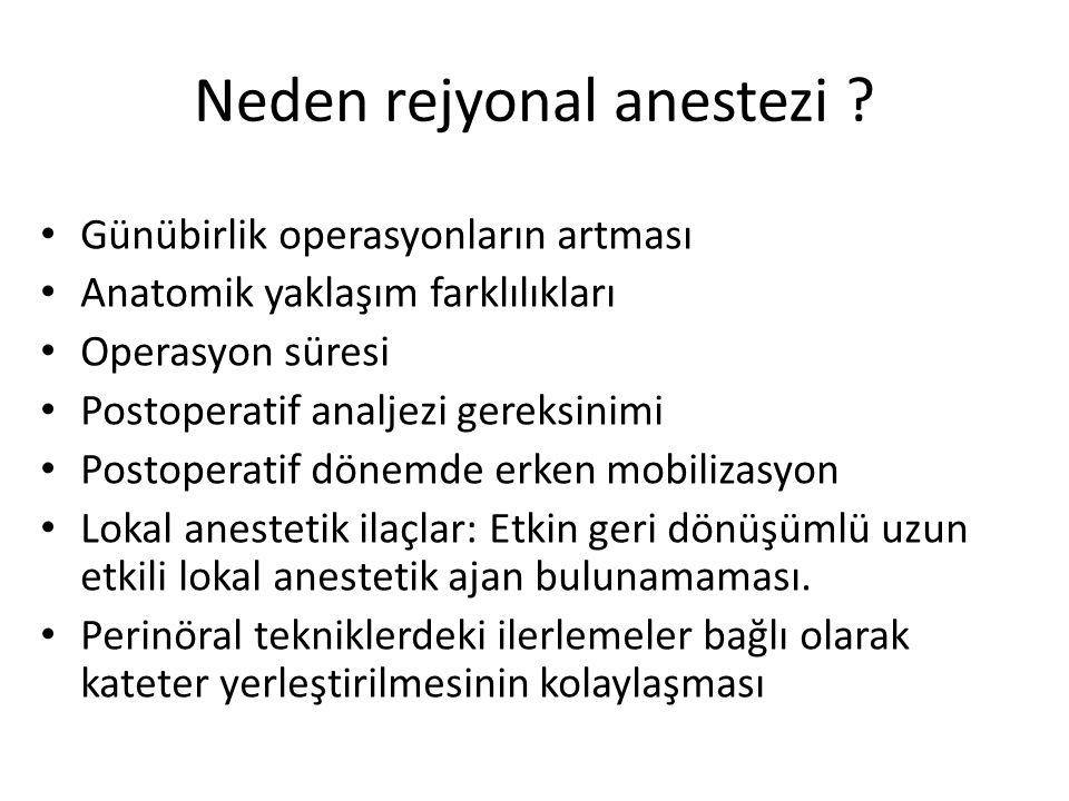 Neden rejyonal anestezi