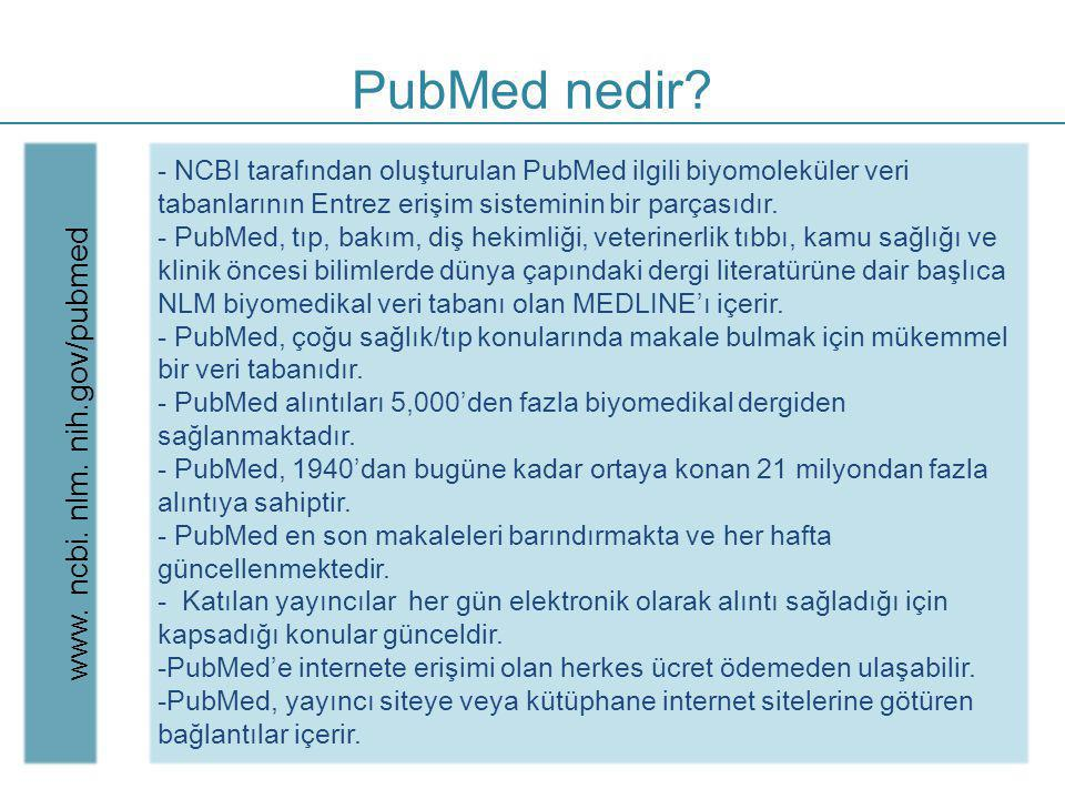 www. ncbi. nlm. nih.gov/pubmed