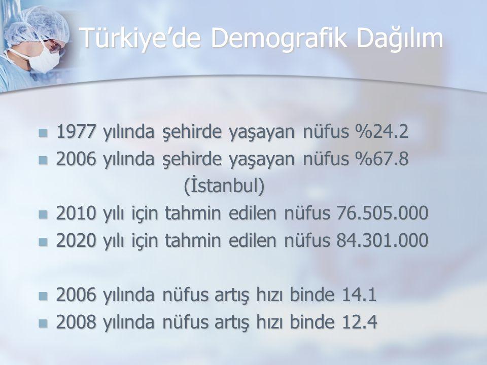 Türkiye'de Demografik Dağılım