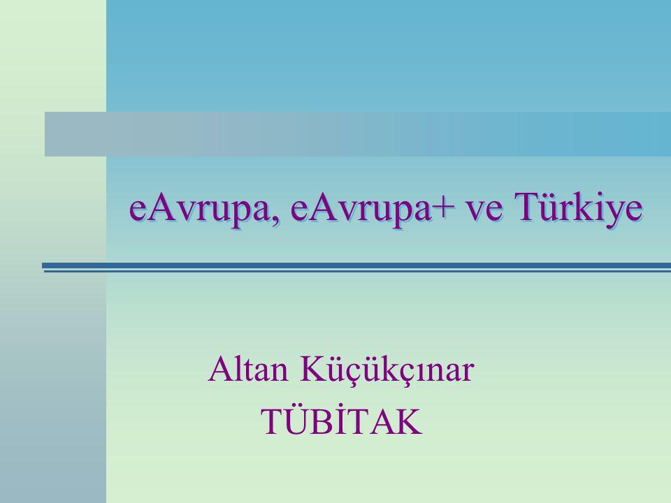 eAvrupa, eAvrupa+ ve Türkiye