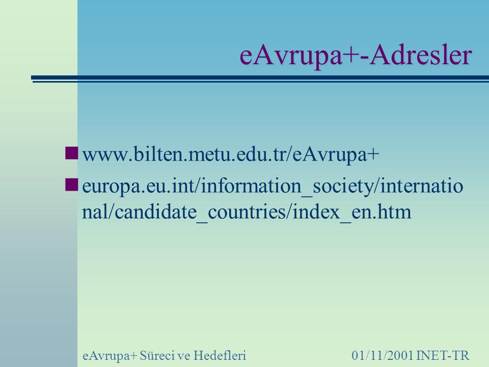 eAvrupa+-Adresler www.bilten.metu.edu.tr/eAvrupa+