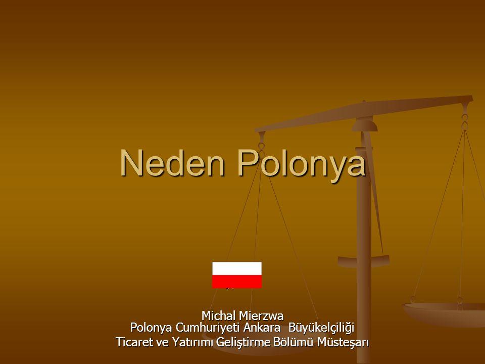 Neden Polonya Michal Mierzwa Polonya Cumhuriyeti Ankara Büyükelçiliği