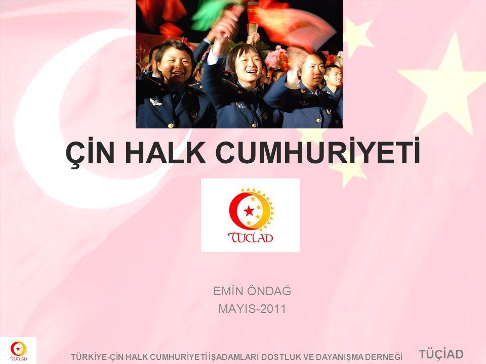 ÇİN HALK CUMHURİYETİ EMİN ÖNDAĞ MAYIS-2011