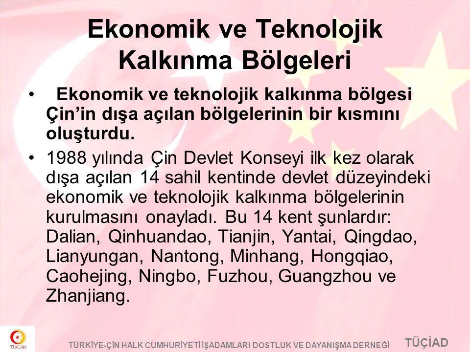 Ekonomik ve Teknolojik Kalkınma Bölgeleri