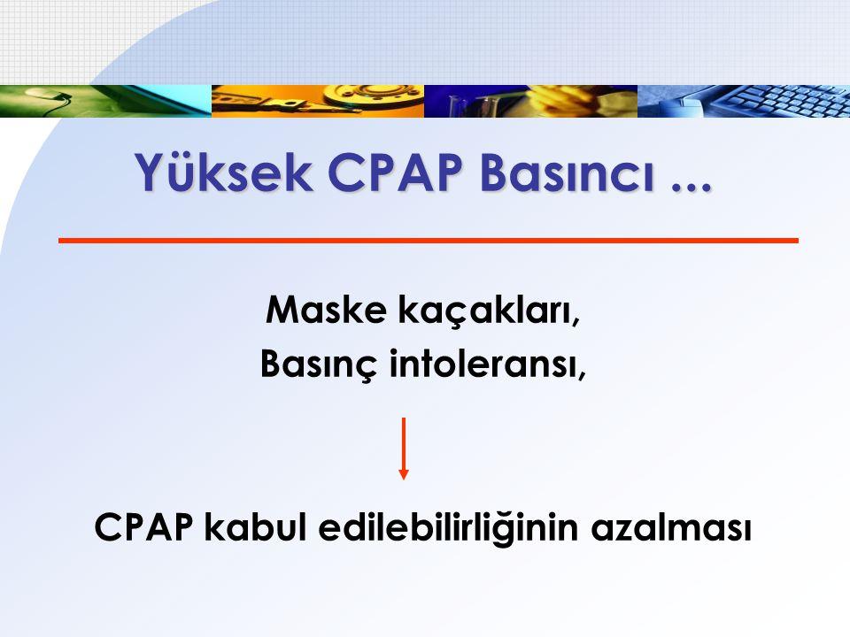 CPAP kabul edilebilirliğinin azalması