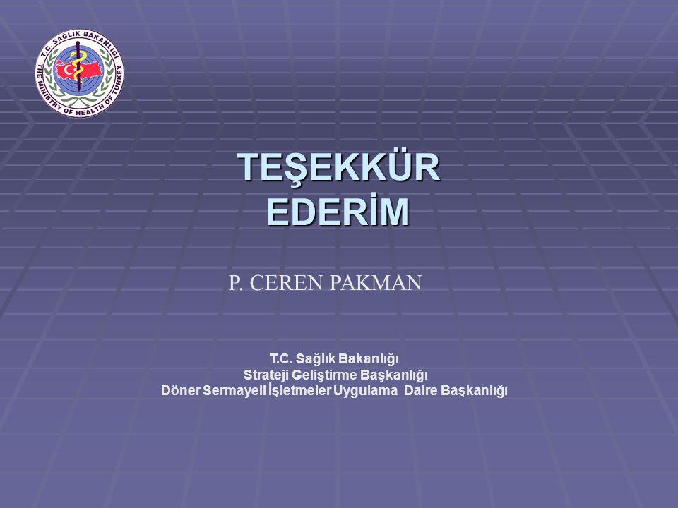 TEŞEKKÜR EDERİM P. CEREN PAKMAN