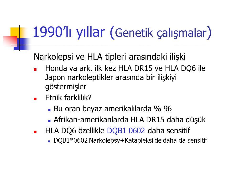 1990'lı yıllar (Genetik çalışmalar)