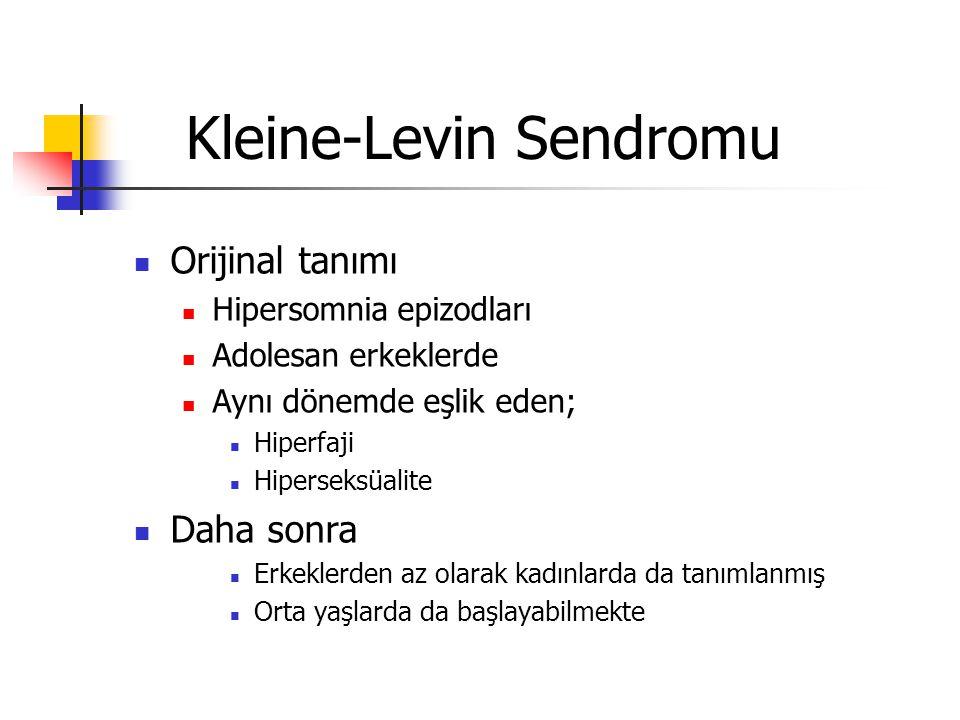 Kleine-Levin Sendromu