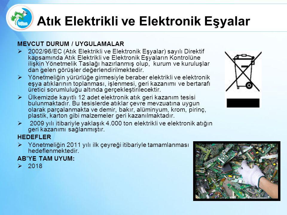 Atık Elektrikli ve Elektronik Eşyalar
