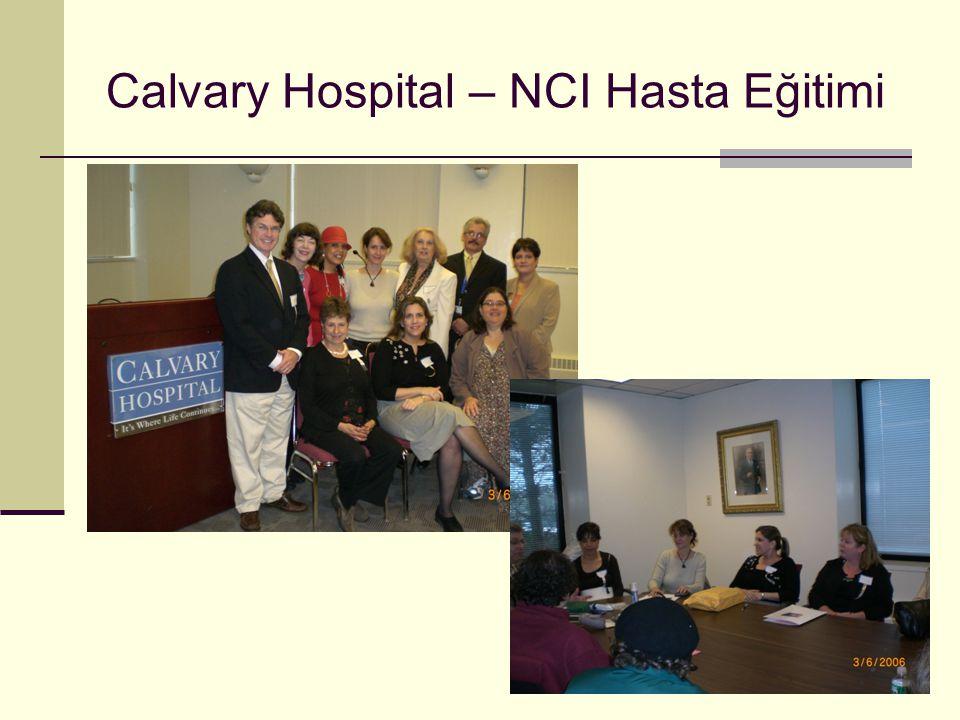 Calvary Hospital – NCI Hasta Eğitimi