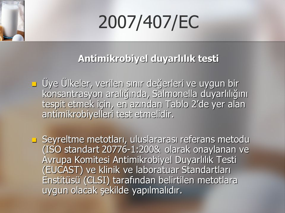 Antimikrobiyel duyarlılık testi