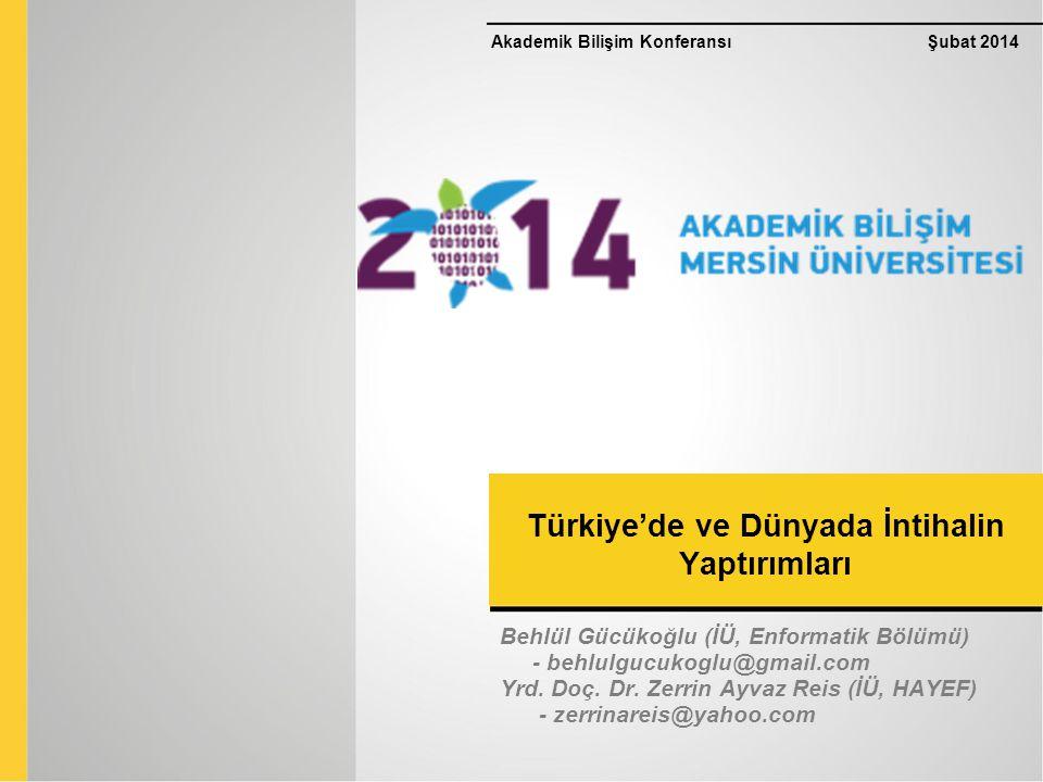 Türkiye'de ve Dünyada İntihalin Yaptırımları