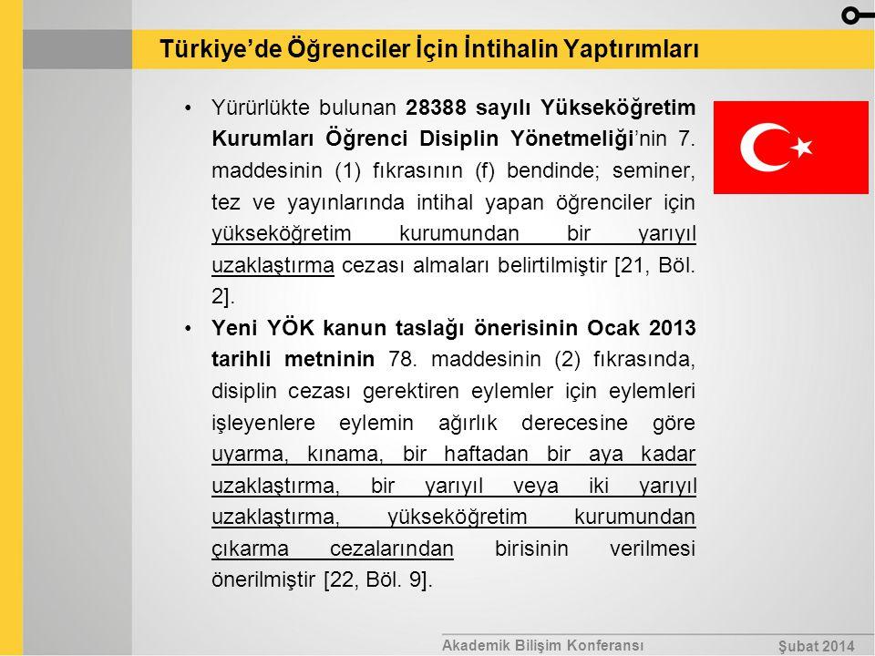 Türkiye'de Öğrenciler İçin İntihalin Yaptırımları