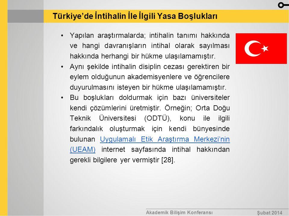 Türkiye'de İntihalin İle İlgili Yasa Boşlukları