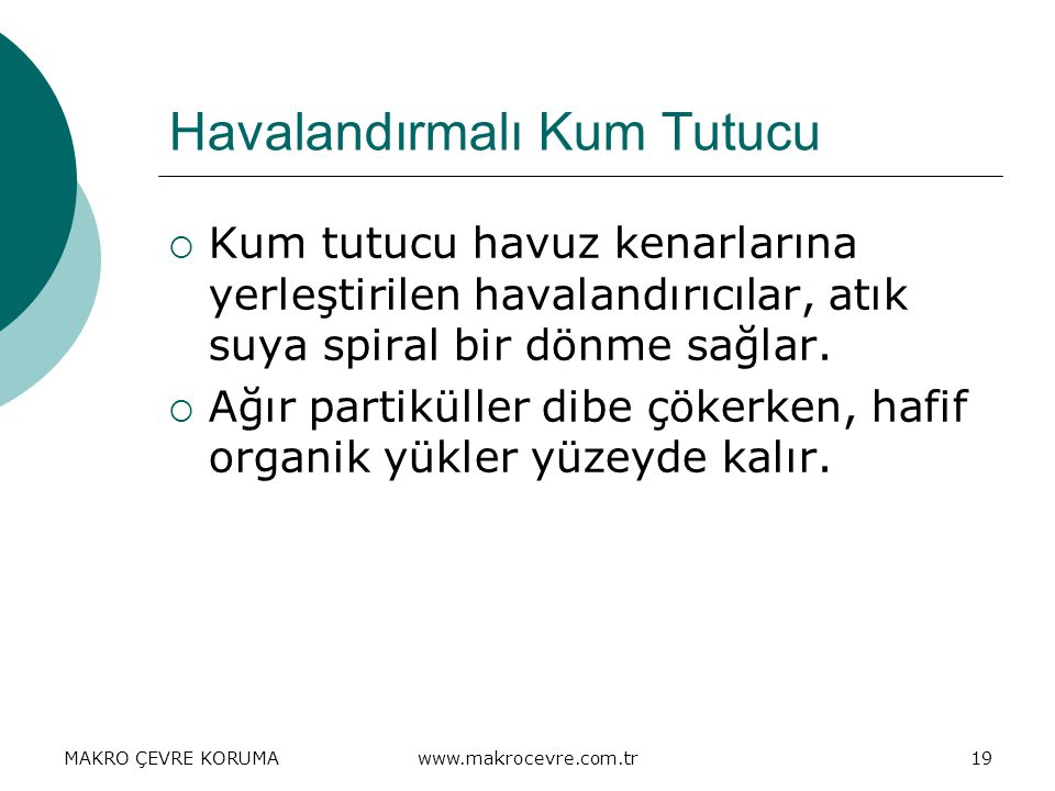 Havalandırmalı Kum Tutucu