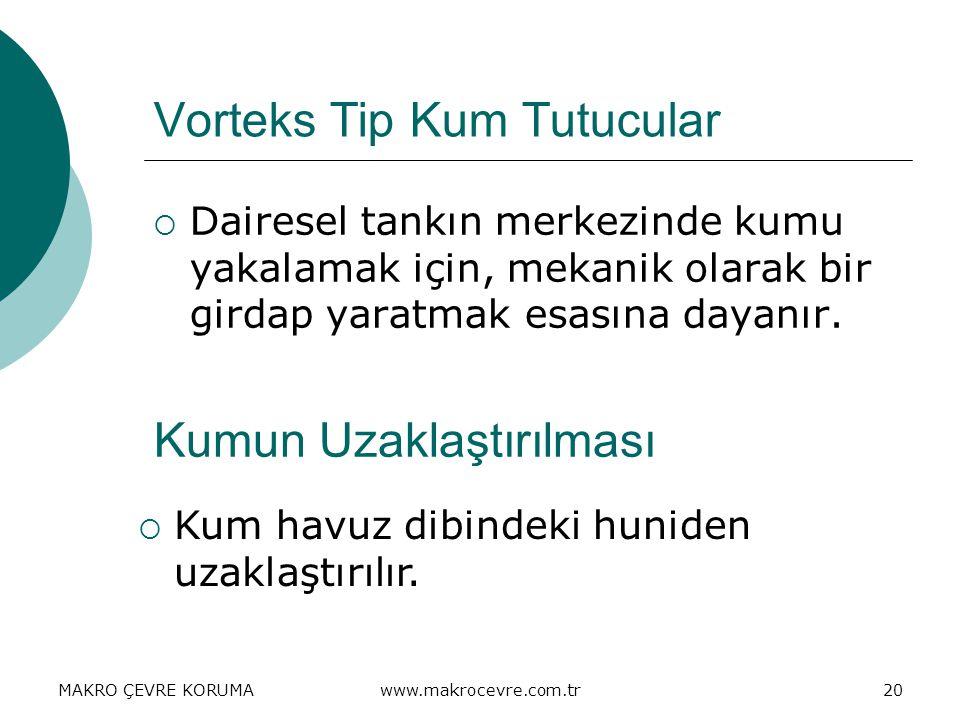 Vorteks Tip Kum Tutucular