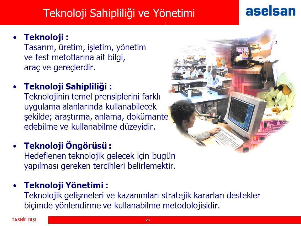 Teknoloji Sahipliliği ve Yönetimi