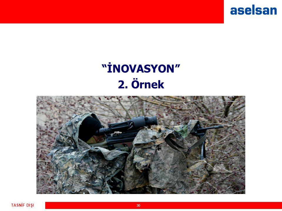 İNOVASYON 2. Örnek