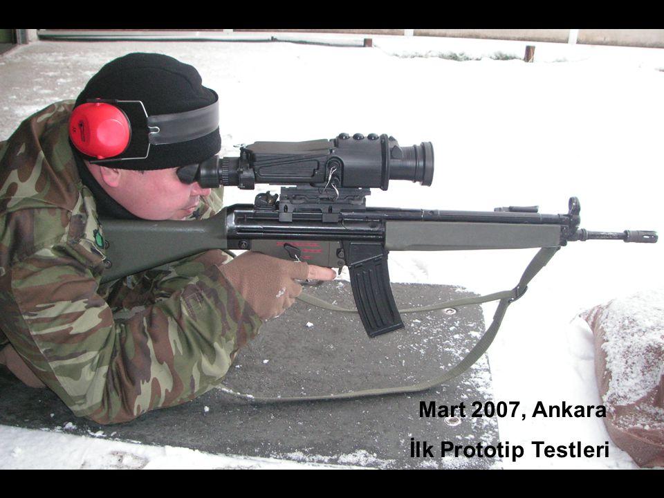 Mart 2007, Ankara İlk Prototip Testleri