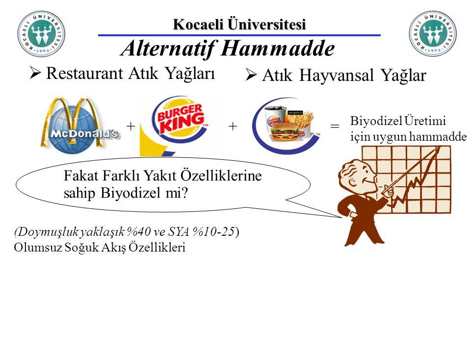 Alternatif Hammadde Restaurant Atık Yağları Atık Hayvansal Yağlar