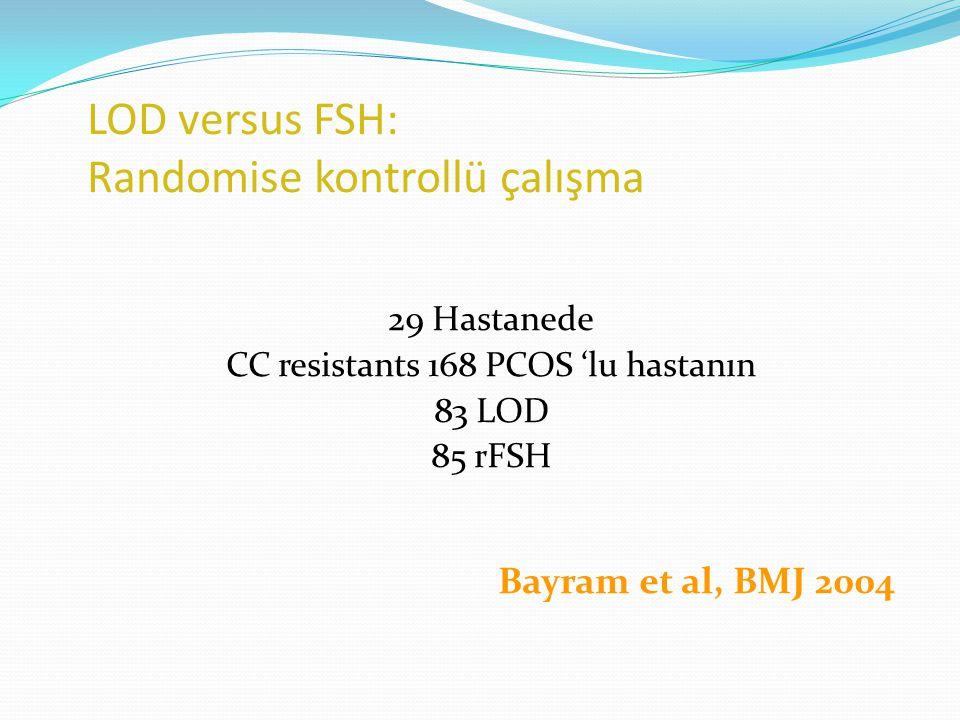 LOD versus FSH: Randomise kontrollü çalışma