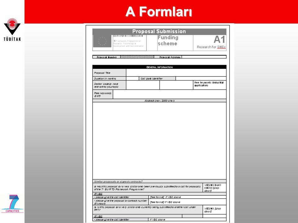 A Formları